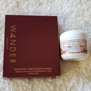 😍 Eye and face mask skincare